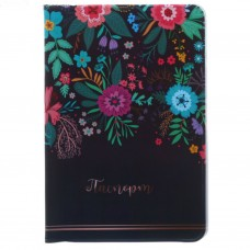 """Обложка для паспорта """" Цветы""""."""